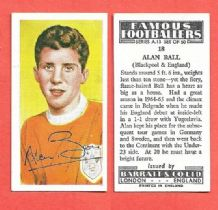 Blackpool Alan Ball England 18
